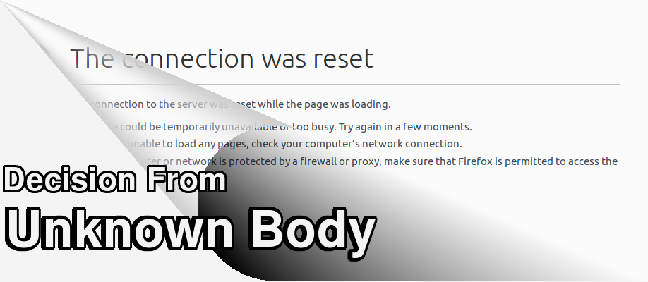 Decision from an Unknown Body: On blocking websites in Egypt – مؤسسة